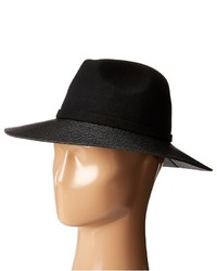 Vince Camuto Faux Leather Loop And Brim Panama
