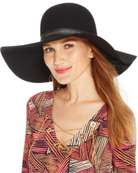 Nine West Felt Tall Crown Floppy Hat