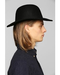 46dde38ce6 Urban Outfitters Felt Wide Brim Bowler Hat, $44 | Urban Outfitters ...