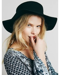 Free People Flat Top Felt Hat