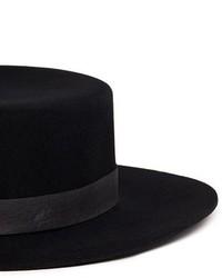 6ee04f00 Janessa Leone Gabrielle Leather Band Wool Felt Bolero Hat, $160 ...