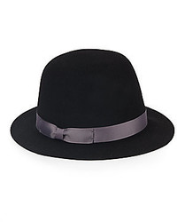 Grosgrain Ribbon Bowler Hat