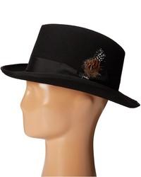 ... Stacy Adams Homburg Wool Felt Hat W Grosgrain Band Caps ... fea5ec51b76f