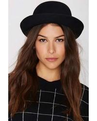 Nasty Gal Factory Alex Bowler Hat