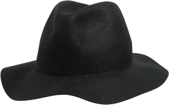 ... Black Wool Hats rhythm Pocket Hat ... db26dbfe601