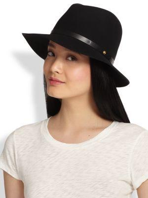 fedora hat - Black Rag & Bone ctF1WK