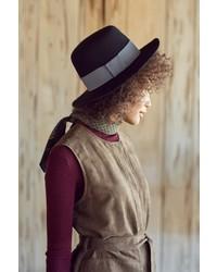 Sadie High Crown Felt Hat