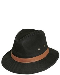 Dorfman Pacific Safari Fedora Brown