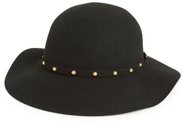 c925995d5 $58, San Diego Hat Floppy Wool Felt Hat With Studded Band