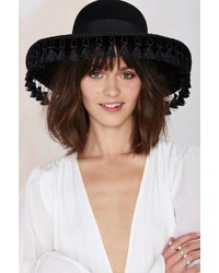 Brixton Sophia Tassel Wool Hat
