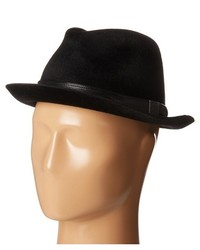 John Varvatos Star Usa Long Hair Wool Felt Fedora Hats