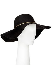 Mossimo Supply Co Floppy Hat With Gold Trim Black Supply Co