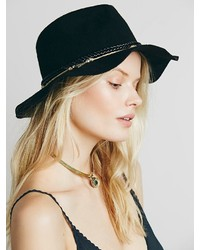 Free People Ultra Embellished Felt Hat