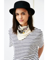 Urban Outfitters Marnie Short Brim Felt Bowler Hat
