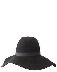 Charlotte Russe Wide Brim Felt Panama Hat