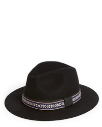 Sole Society Wide Brim Wool Fedora