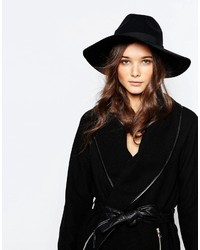 Pieces Wide Brim Wool Fedora