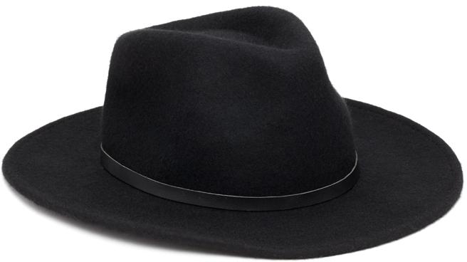 ... Black Wool Hats Forever 21 Wide Brim Wool Fedora ... a551d9f5ae8