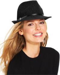 Calvin Klein Wool Belted Fedora
