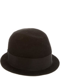 Neil Barrett Wool Fedora Hat W Tags