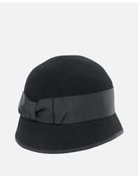San Diego Hat Company Wool Felt Bow Cloche