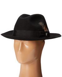 21d0bbfc4ed4a ... Stacy Adams Wool Felt Fedora W Grosgrain Band Fedora Hats