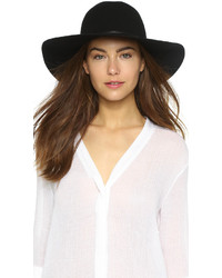 Wool felt round crown floppy hat medium 313835