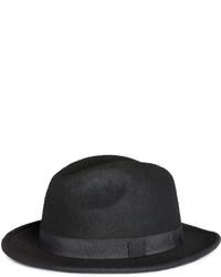 H&M Wool Hat Black