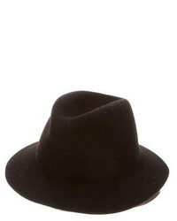 Balenciaga Wool Leather America Hat