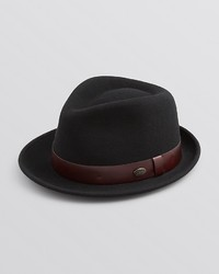 Bailey Of Hollywood Yates Fedora With Leather Band