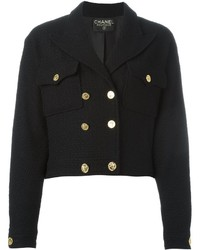 Chanel Vintage Boucl Fitted Jacket