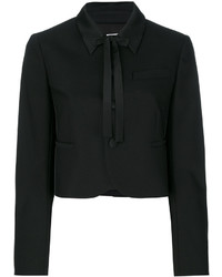 RED Valentino Classic Collar Cropped Jacket
