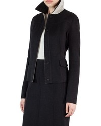 Double face wool reversible bicolor jacket medium 5255771