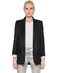 Etoile Isabel Marant Prince Of Wales Wool Flannel Jacket