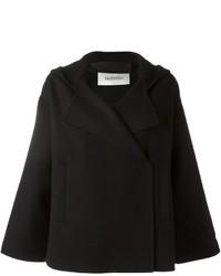 Valentino Hooded Cape Jacket