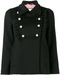 Gucci Ruffle Pea Jacket