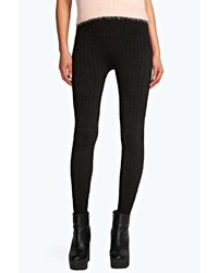Boohoo Jade Cable Knit Supersoft Leggings