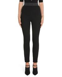 Dolce & Gabbana Wool Crepe Legging Pants