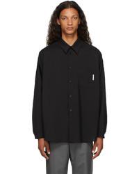Marni Black Virgin Wool Shirt