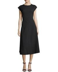 Addison side button a line midi dress medium 4948543