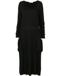 Jil Sander Flared Midi Dress