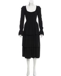 Tom Ford Fleece Wool Midi Dress