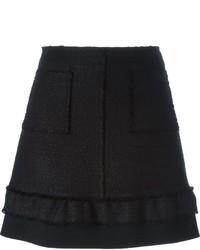 Proenza Schouler A Line Boucl Skirt