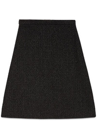 Gucci Tweed A Line Skirt