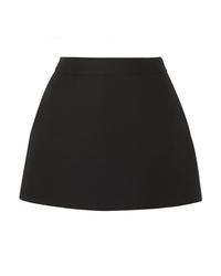 Valentino Wool And Mini Skirt