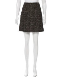 Chanel Wool Tweed Skirt
