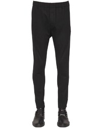 Ann Demeulemeester 15cm Stretch Virgin Wool Pants
