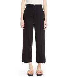 Chloé Chloe Stretch Wool Crop Pants