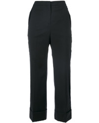 No.21 No21 Cropped Tailored Trousers