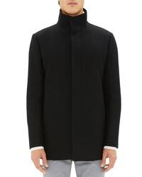 Theory Trim Fit Melton Wool Blend Jacket